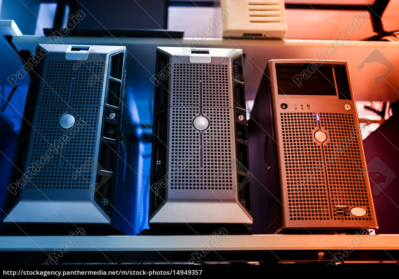 network, servers - 14949357