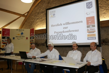 press conference ipc world cup 2014