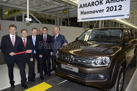 the vw amarok production in hannover