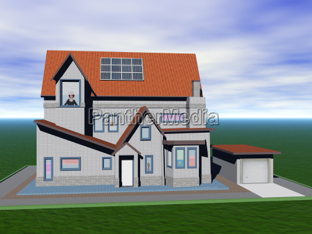 residential house in the countryside
