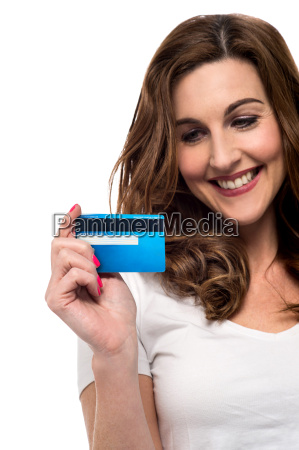 easier shopping with credit card