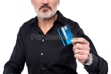 use credit card for ease of