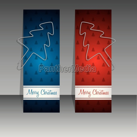 christmas shopping labels with binder clip