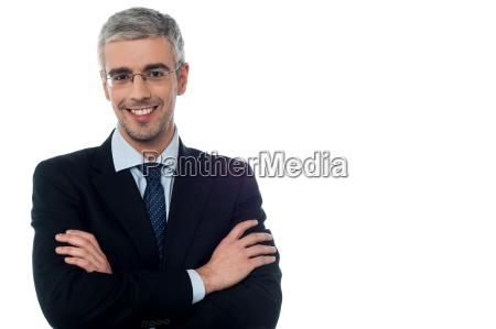 confident young smiling businessman