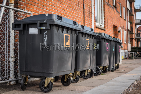 garbage cans for waste sorting