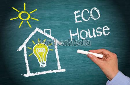eco house green energy home