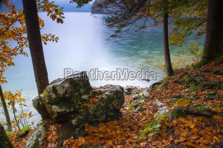 autumn at the koenigsee