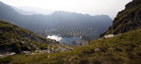 balea lake fagaras mountains romania