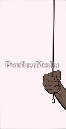 hand pulling cord