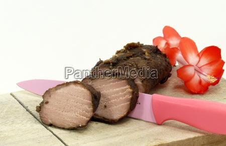 roasted veal sausage