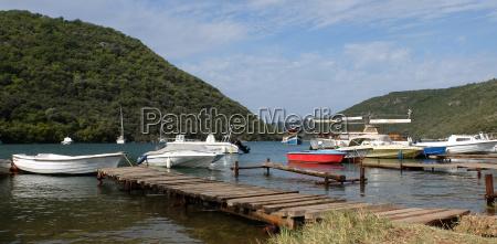 boats in the limski fjord
