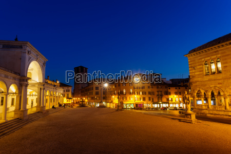 udine view of piazza liberta