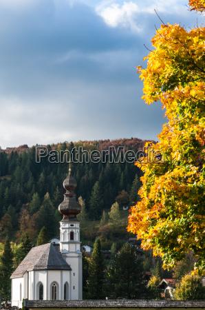 autumn in mittenwald at st nicholas