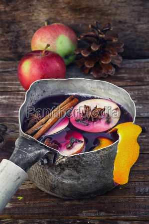 autumn and mulled wine