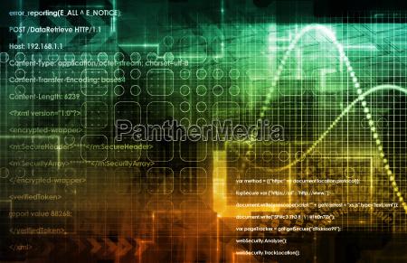 internet concept background