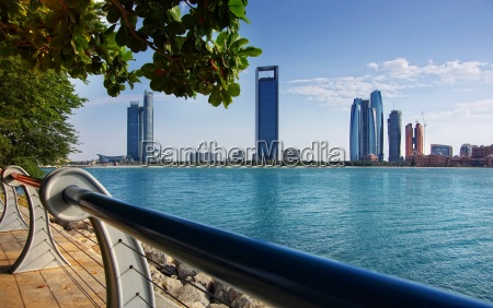 promenade in abu dhabi united arab