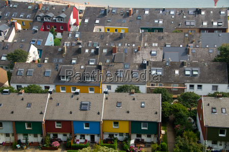 houses on helgoland