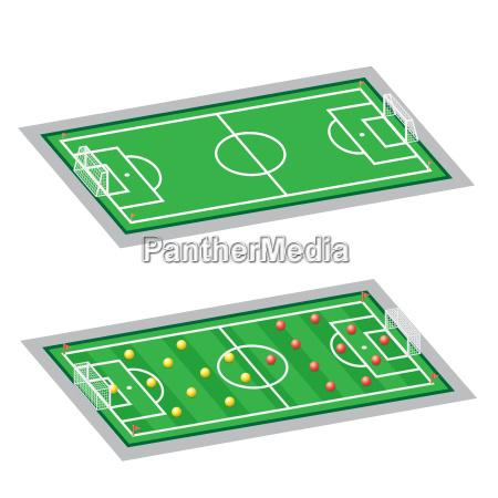 soccer football fields