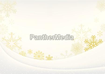 white xmas greeting card