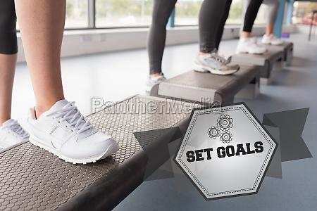 set goals against hexagon