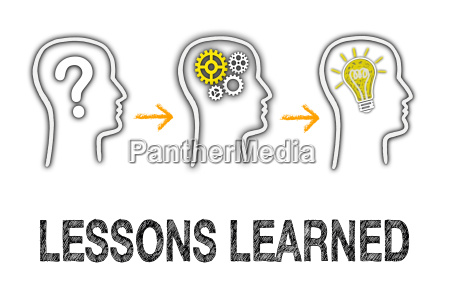 lessons learned education concept