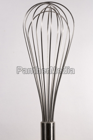 balloon whisk close up