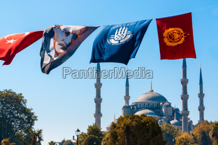 the mosque and ataturk