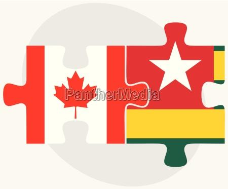 united kingdom and togo flags