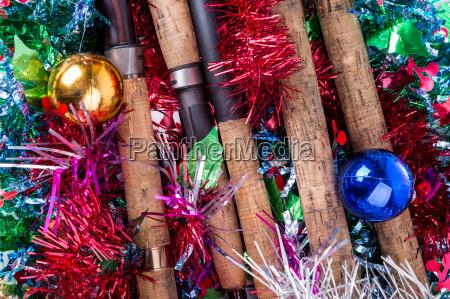 christmas frame for fishers and anglers