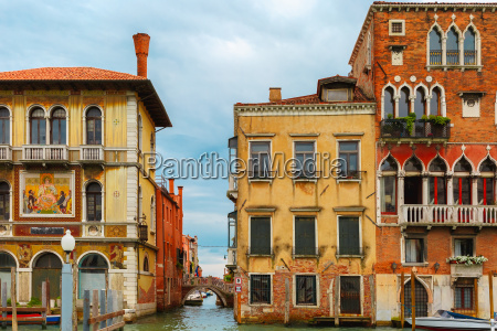 venetian gothic palace on grand canal