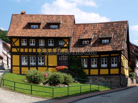 tudor style house in stolberg