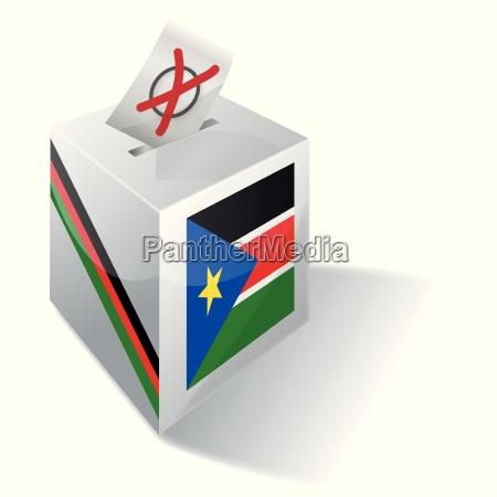 selection box south sudan