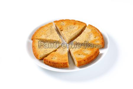 spiced almond cake