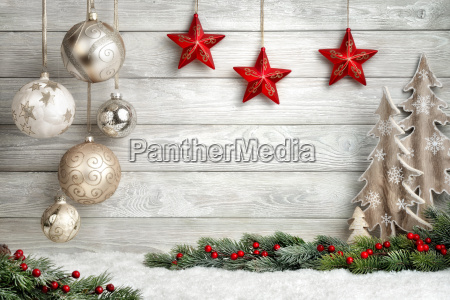 chic christmas background
