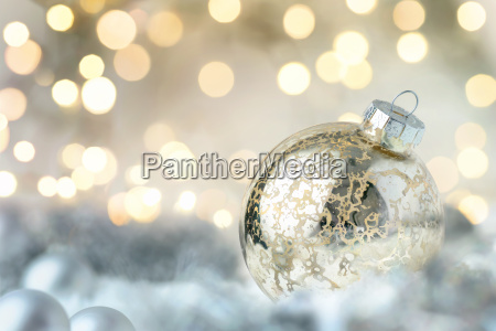shiny, christmas, bauble, and, glittering, lights - 15435679