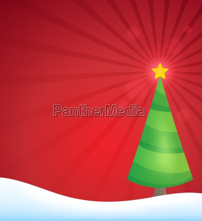 stylized christmas tree topic image 2