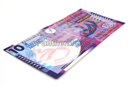 10 hong kong dollar bank note