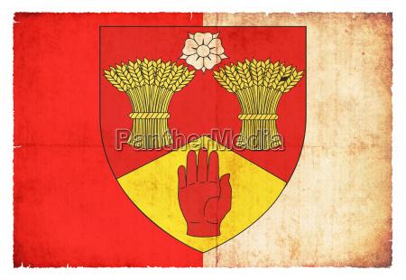 grunge flag londonderry ireland