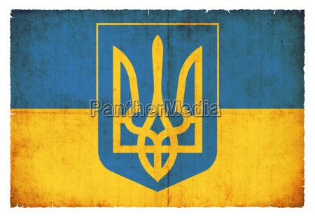 bandiera stile ucraina vecchio