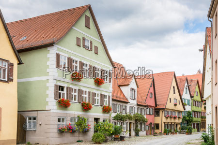 historic old town of dikelsbuehl