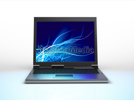 laptop viewed from the front
