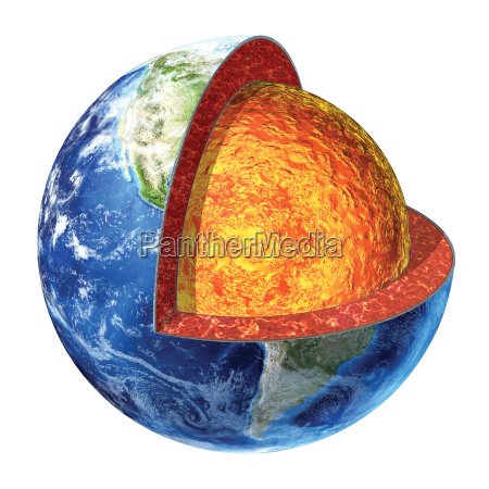 earth cross section lower mantle version