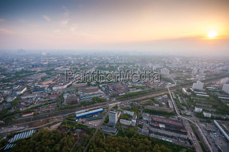 bird39s eye view of moscow at