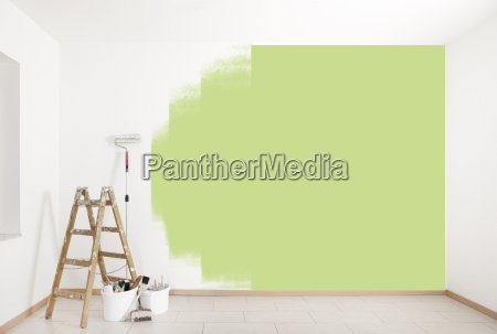 paint the green wall