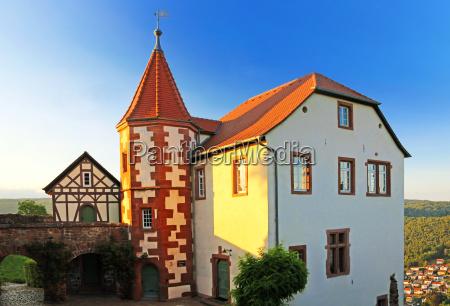 commandants house at the mountain dilsberg