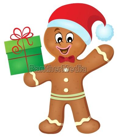 gingerbread man theme image 2