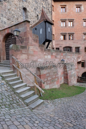 historic old town of nuremberg upper