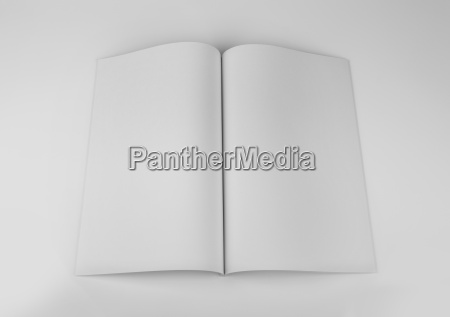 blank magazine catalog brochure book mock