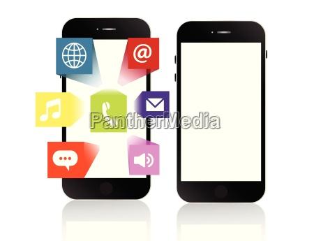 smartphone apps touchscreen smartphone