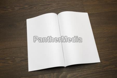 blank magazine catalog book mock up